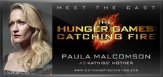 Please welcome back to the cast of The Hunger Games: Catching Fire, Paula Malcomson!