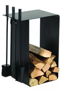 Rangements à bois ARTIGO : accessoire déco DIXNEUF pour poêles & cheminées