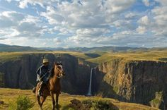 Photo by Joe Albus via Semonkong Lodge Rest Of The World, Wonders Of The World, Abseiling, Warm Bed, Travel Companies, Travel And Tourism, Continents, Places To Visit, Explore