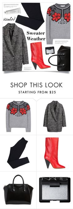 """Sweater Weather"" by marina-volaric ❤ liked on Polyvore featuring STELLA McCARTNEY, H&M, Wolford, Isabel Marant, Givenchy, NARS Cosmetics, Byredo and wintersweater"