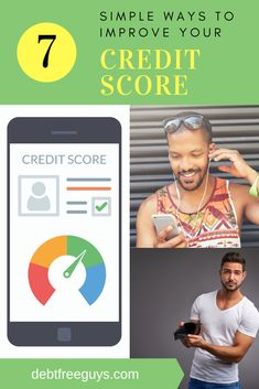 Want to save tens of thousands of dollars? Improve your credit score with these amazing and easy 7 tips, and your credit score and financial life will improve in no time. Be the first to tell friends. What Is Credit Score, Fix Your Credit, Improve Your Credit Score, Paying Off Credit Cards, Debt Payoff, Money Tips, Scores, Personal Finance, Making Ideas