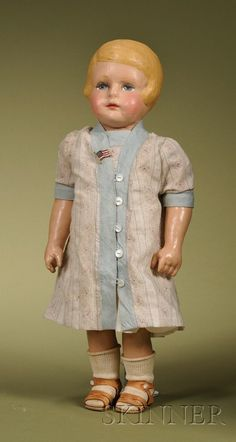 Martha Chase Girl with Side-part Hair | Sale Number 2476, Lot Number 130 | Skinner Auctioneers