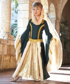 Another great find on #zulily! Maid Marian Dress - Girls by chasing fireflies #zulilyfinds