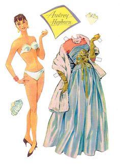 Audry Hepburn - Paper Doll