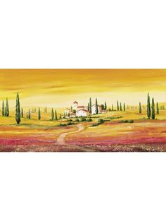 Tuscan Art, Tuscany Landscape, Artist Journal, West Art, Watercolor Landscape Paintings, Art Impressions, Urban Sketchers, Folk Art, Scenery