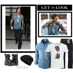 'Get The Look' David Beckham (ink optional)... Found on keri-cruz.polyvore.com... Created in the Polyvore iPad app. http://www.polyvore.com/iOS