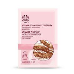 Vitamin E Sink In Moisture Mask Sachet | Shop By Range | The Body Shop £1.50