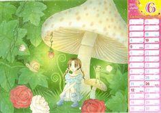 Tachibana Higuchi, Gakuen Alice, Mikan Sakura, Hana to Yume, Calendar
