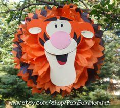 Winnie the Pooh Inspired Pom Poms by PomPomMomma on Etsy