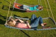 Presents for my favorite teenage girls! Frammock Garden Swing with a personalise… Presents for my favorite teenage girls! Garden Hammock, Outdoor Hammock, Hammock Swing, Garden Swings, Hammock Ideas, Chair Swing, Diy Swing, Diy Hammock, Kids Outdoor Play