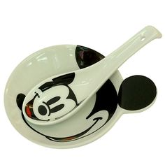 Mickey Mouse Bowl & Spoon