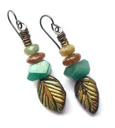 Ceramic Jewelry, ScorchedEarthOnEtsy, Lightweight Earrings, Artisan Jewelry, Unusual Earrings, Boho Jewelry, Rustic Earrings, SheFliesAgain by SheFliesAgain on Etsy https://www.etsy.com/listing/213378513/ceramic-jewelry-scorchedearthonetsy