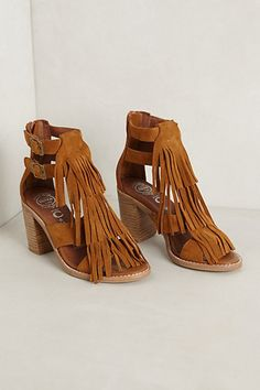 e8910a6adf5df1 Amazing Suede Fringe Heels for women source Product Details Fits true to  size Back zip Leather upper