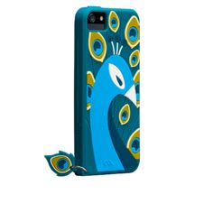 Peacock Silicone Case for #iPhone5   Case-Mate - Show your style with the Peacock, the fashion-inspired, silicone iPhone 5 case.