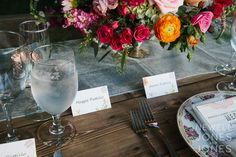 wedding flowers. saturated colors.   Maggie + Aaron - Carbondale, Colorado Wedding Photography - Newell Jones + Jones - Denver, Wedding Photographer