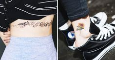 18 Sweet, Subtle Tattoos Wallflower People Will Love
