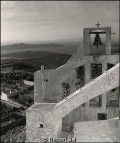 Herbert List Σαντορίνη, το μοναστήρι του Προφήτη Ηλία, 1937