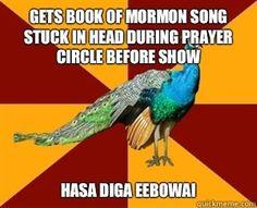 thespian peacock | Thespian Peacock meme | quickmeme