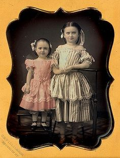 2 girls in their finest, tinted by Williamson, Brooklyn, NY