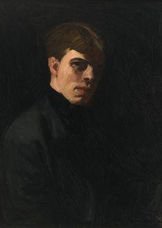 Intercepted by Gravitation — dayintonight: Edward Hopper Self-Portraits,...