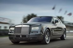 The Rolls-Royce Bespoke Chicane Phantom Coupe (what a name!) is revealed.