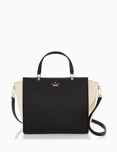 Kate Spade New York Chelsea Square Colorblock Pebbled Leather Hayden Satchel