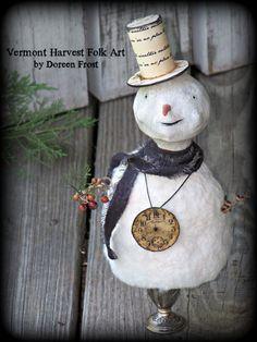 ~Early Dolls~ - Vermont Harvest Folk Art by Doreen Frost