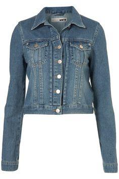 MOTO Vintage Denim Jacket  LOVE my jean jacket.....a white one is also essential.