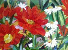 Ola Palacz - mosaic flowers