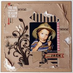 Kaisercraft - Mix & Match - Collette Mitrega Kids Scrapbook, Scrapbook Albums, Scrapbooking Layouts, Mini Photo Frames, Red Paper, Paper Frames, Reasons To Smile, Love Cards, Kraft Paper