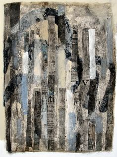 Saatchi Online Artist: Scott Bergey; Mixed Media, 2012, Painting There Was A Time