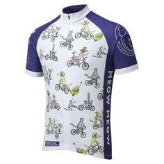 Battersea Dogs & Cats Home charity cycle jersey, the first ever cycling jersey to be designed for the home. Hugely popular jersey with animal lovers worldwide.