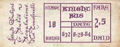 Resultado de imagen de KNIGHT BUS DRAWING