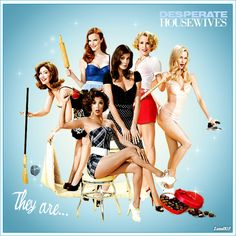 I'm doing a Desperate Housewives marathon today and loving it