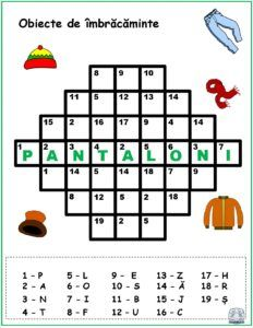 Cuvinte codificate - Obiecte de îmbrăcăminte Kindergarten Activities, Activities For Kids, Crafts For Kids, Preschool, School Frame, Teacher Supplies, Math Numbers, Activity Sheets, Math For Kids