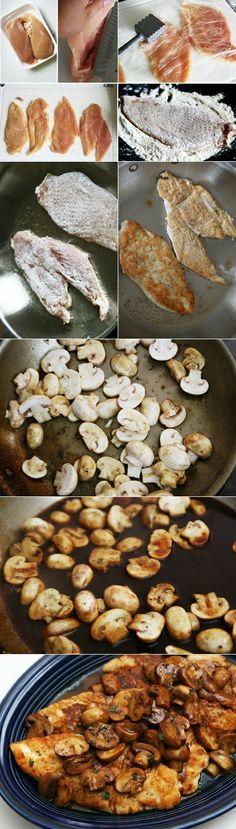 ~Chicken Marsala~