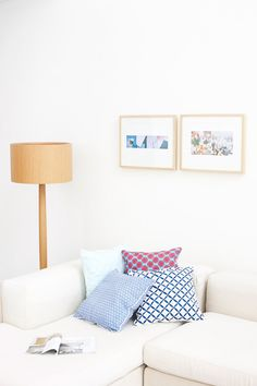 sfgirlbybay / bohemian modern style from a san francisco girl - like the way the pictures are done (diptych!)