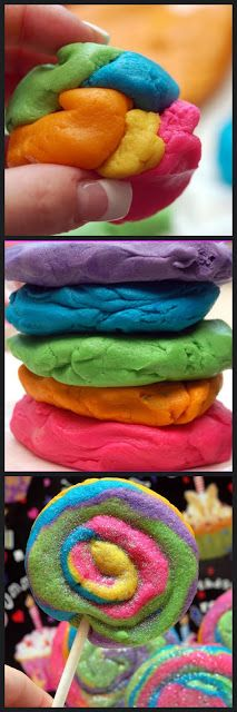 Hugs & CookiesXOXO: EDIBLE PLAY DOUGH COOKIES