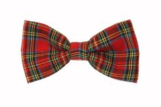 Clip On Bow Ties, Boys Bow Ties, Red Plaid, Tartan, Music Clips, Bow Tie Collar, Tie And Pocket Square, Bows, Awesome