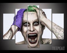 Leto Joker - 5 Piece Canvas. #print #printable #beauty #art #teepeat