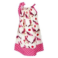 Handmade Printed Pillowcase Dress $32
