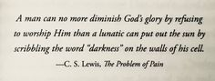 C.S. Lewis, The Problem of Pain
