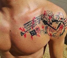 Tattoo trash polka #tintayartetattoo