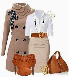 Amazing outfit. Very elegant Combination