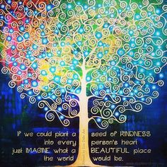 Plant seeds of kindness and watch the world grow into a better place. #foreverpayingitforward #spreadkindness #bekind #plantseeds #kindnessmatters #kindness