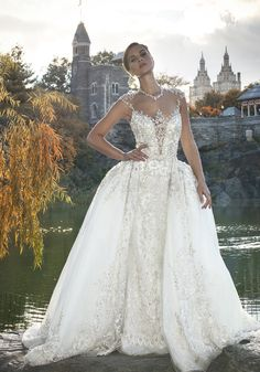 """Ysa Makino   Embroidered Glamorous Ball Gown-2 piece (as seen in SYTTD- Season 14 """"Alicia"""")"""