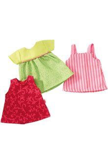 HABA - Erfinder für Kinder - Set di abiti Vestitini estivi - Bambole 34 cm - Bambole - GIOCATTOLI & MOBILI