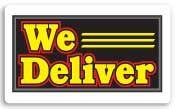 Everbrite We Deliver Lightbox Sign