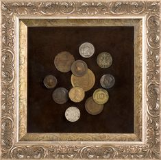 Here is great framing idea for your foreign coins. Best Shadow Box Ideas You Did Not Know About military shadow box ideas Shadow box ideas (memory box ideas) Tags: Shadow Box Ideas diy, Shadow Box Ideas baby, Shadow Box Ideas memorial, military Shadow Box Memory, Diy Luminaire, Foreign Coins, Coin Display, Coin Art, Vintage Crafts, Displaying Collections, Custom Framing, Picture Frames