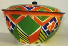 Czech Enamelware Turreen Europe Art Deco Stunning Cathrineholm Finel Type | eBay
